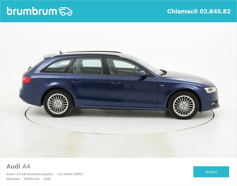 Audi A4 usata del 2015 con 132.122 km | brumbrum