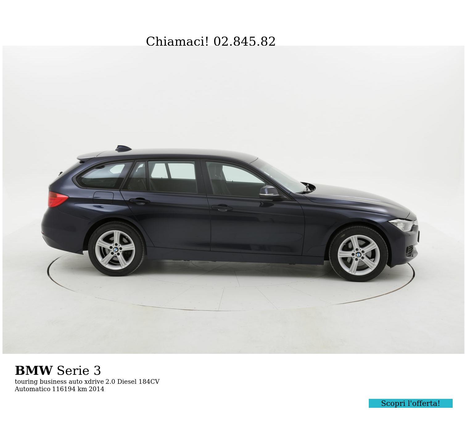 BMW Serie 3 usata del 2014 con 116.284 km | brumbrum