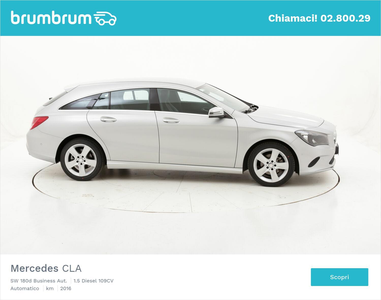 Mercedes CLA SW 180d Business Aut. usata del 2016 con 64.478 km   brumbrum
