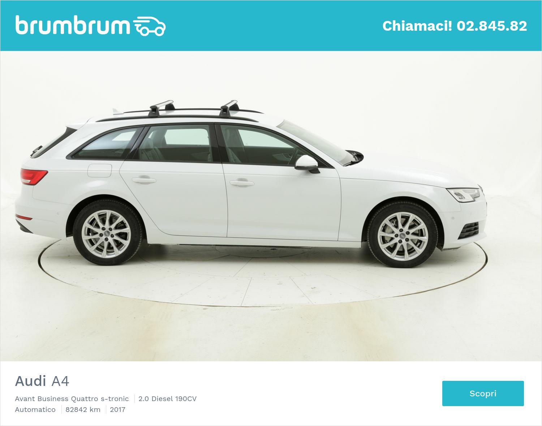 Audi A4 usata del 2017 con 83.378 km   brumbrum