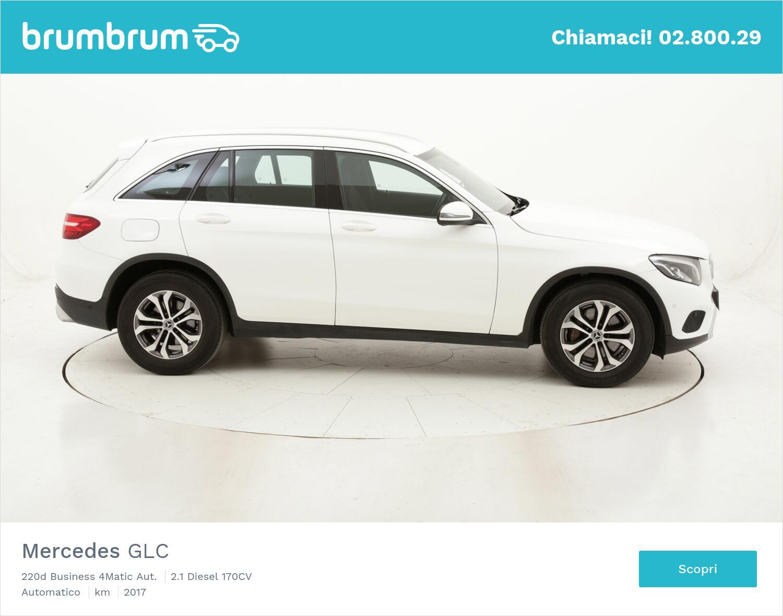 Mercedes GLC 220d Business 4Matic Aut. usata del 2017 con 72.986 km   brumbrum
