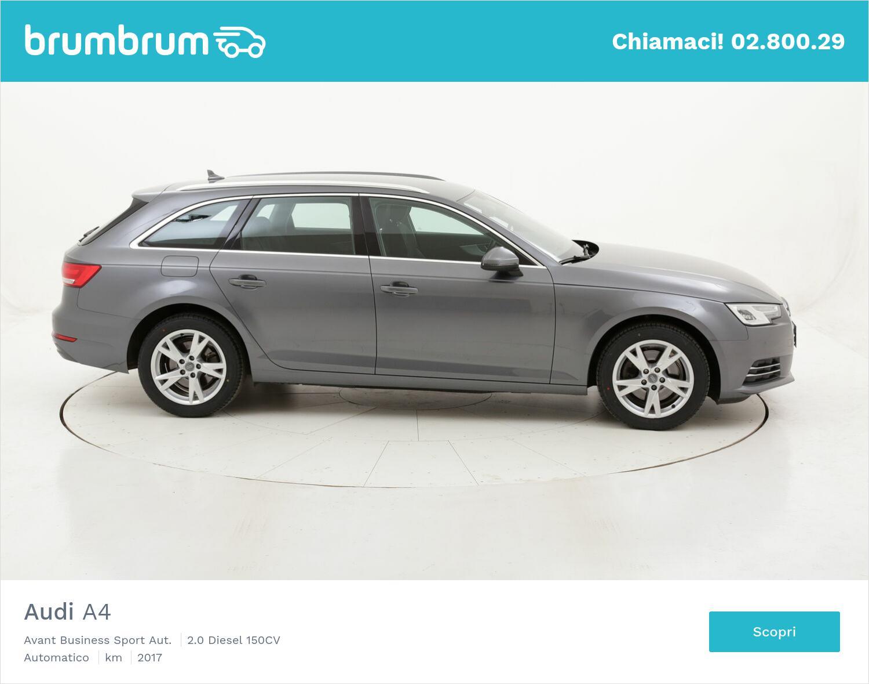 Audi A4 Avant Business Sport Aut. usata del 2017 con 69.618 km | brumbrum