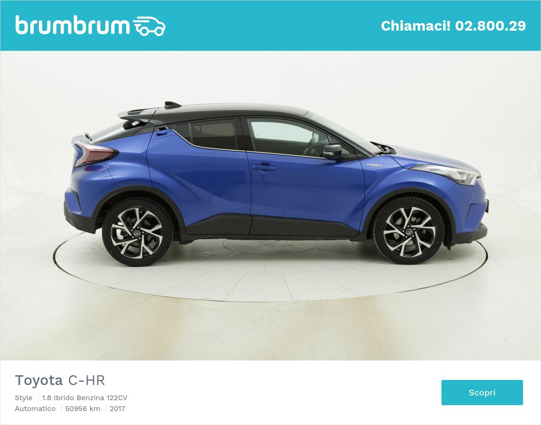 Toyota C-HR usata del 2017 con 51.039 km | brumbrum
