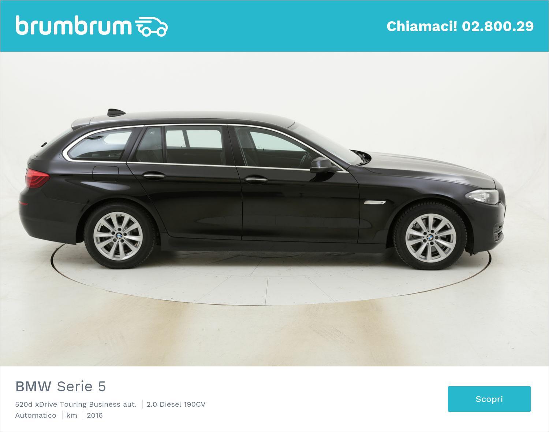 BMW Serie 5 520d xDrive Touring Business aut. usata del 2016 con 102.227 km | brumbrum