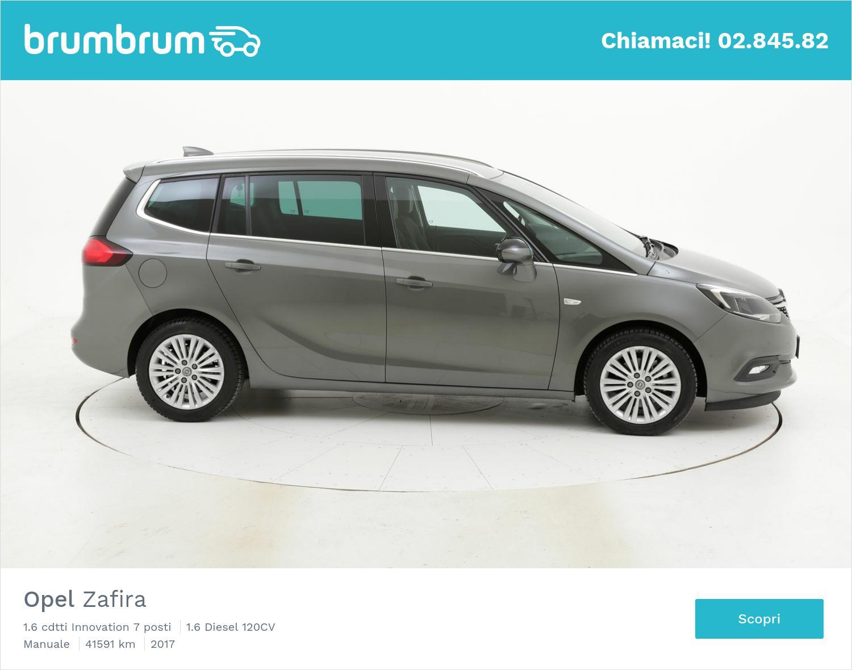 Opel Zafira usata del 2017 con 41.690 km | brumbrum