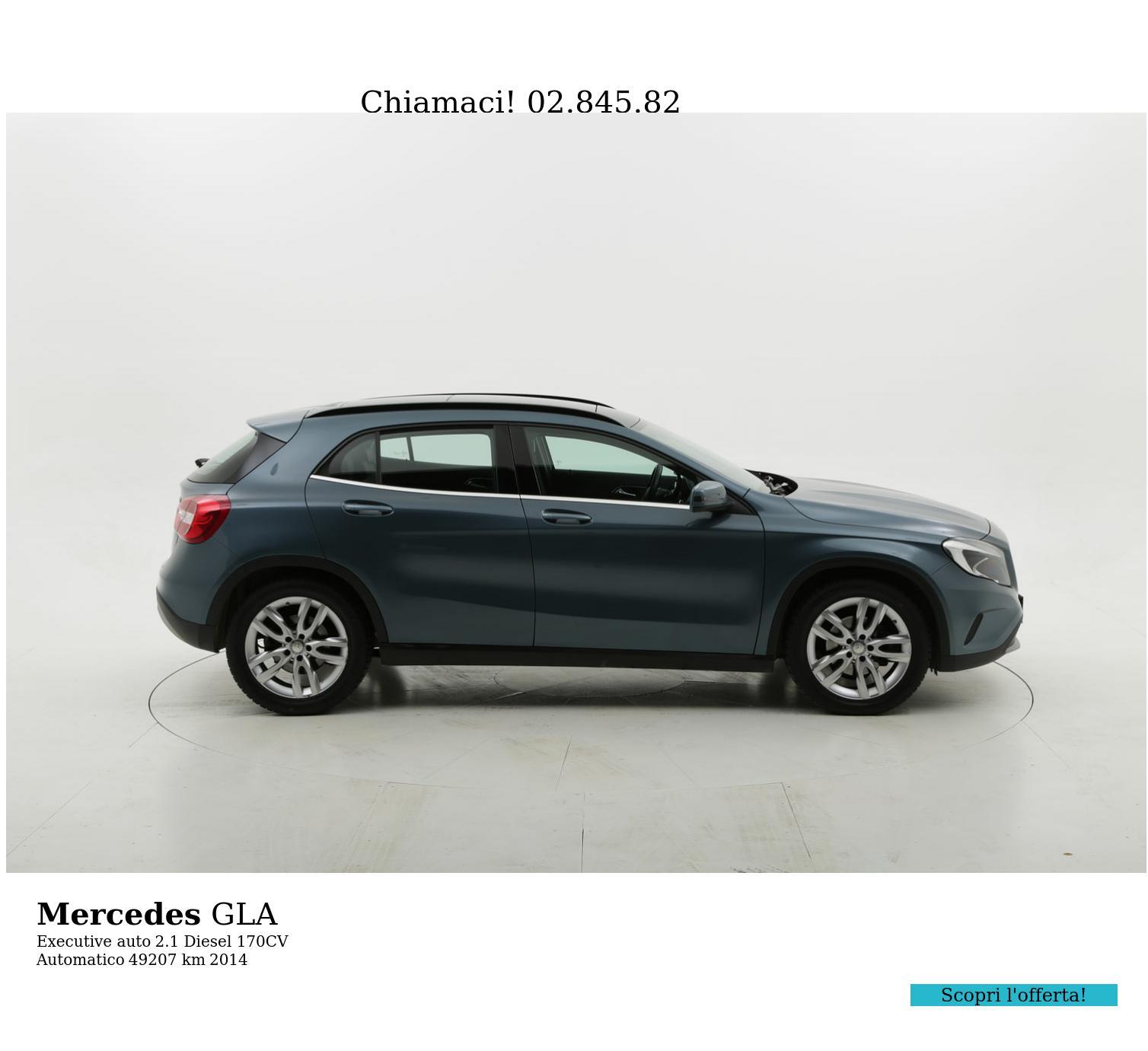 Mercedes GLA usata del 2014 con 49.284 km | brumbrum