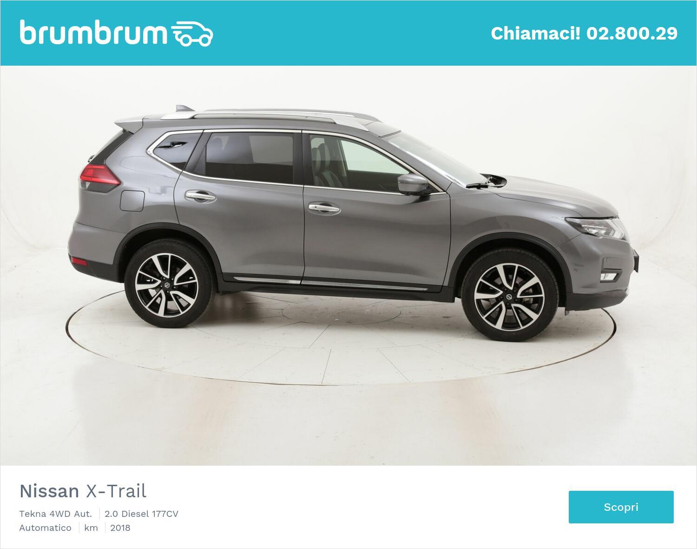 Nissan X-Trail Tekna 4WD Aut. usata del 2018 con 40.339 km   brumbrum