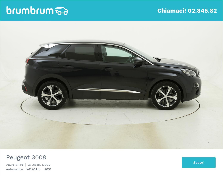 Peugeot 3008 Allure EAT6 usata del 2018 con 41.527 km | brumbrum
