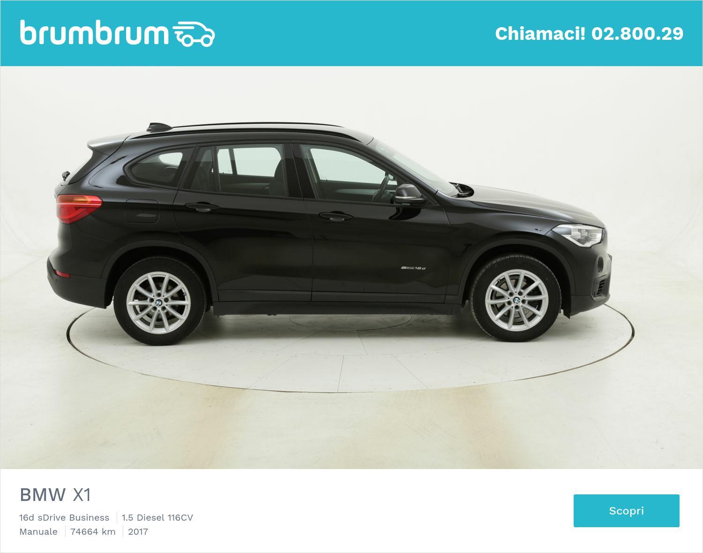 BMW X1 16d sDrive Business usata del 2017 con 74.845 km | brumbrum