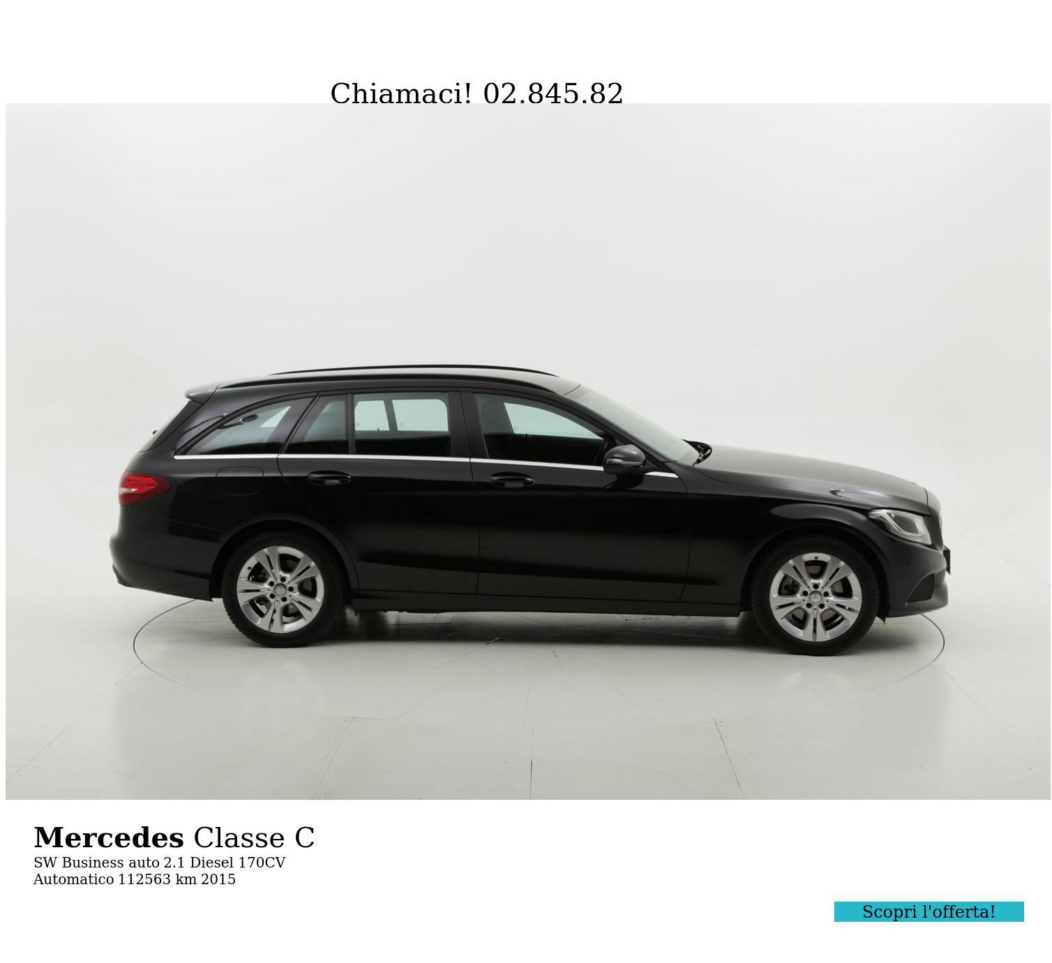 Mercedes Classe C usata del 2015 con 112.940 km | brumbrum