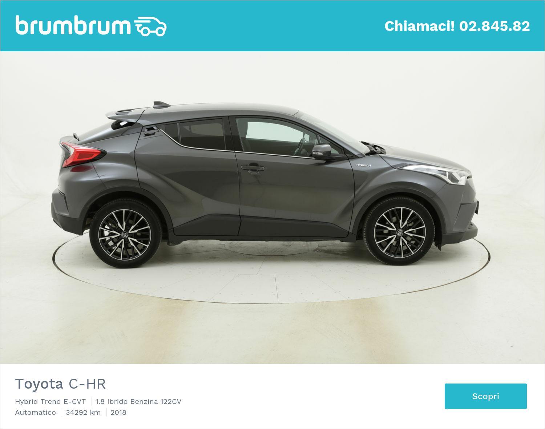 Toyota C-HR Hybrid Trend E-CVT usata del 2018 con 34.395 km | brumbrum