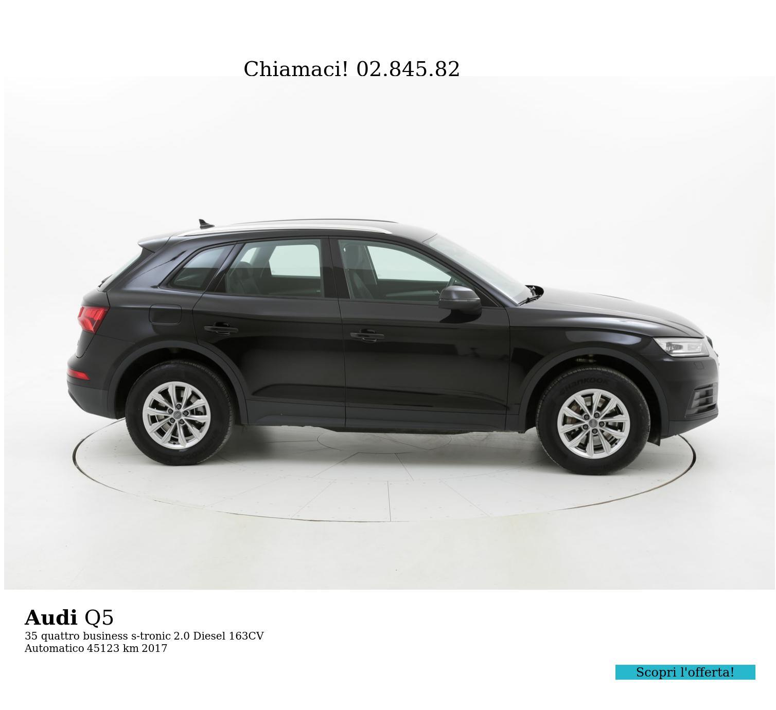 Audi Q5 usata del 2017 con 45.325 km | brumbrum