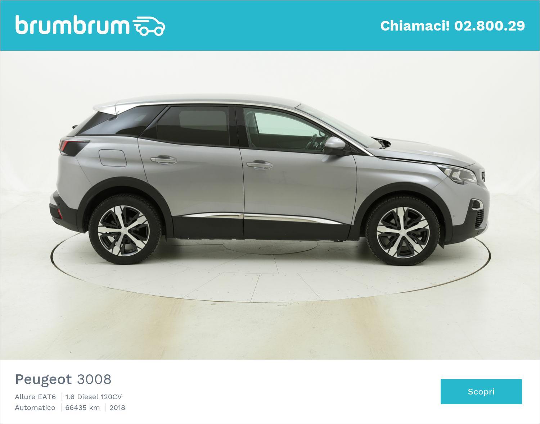 Peugeot 3008 usata del 2018 con 66.448 km | brumbrum