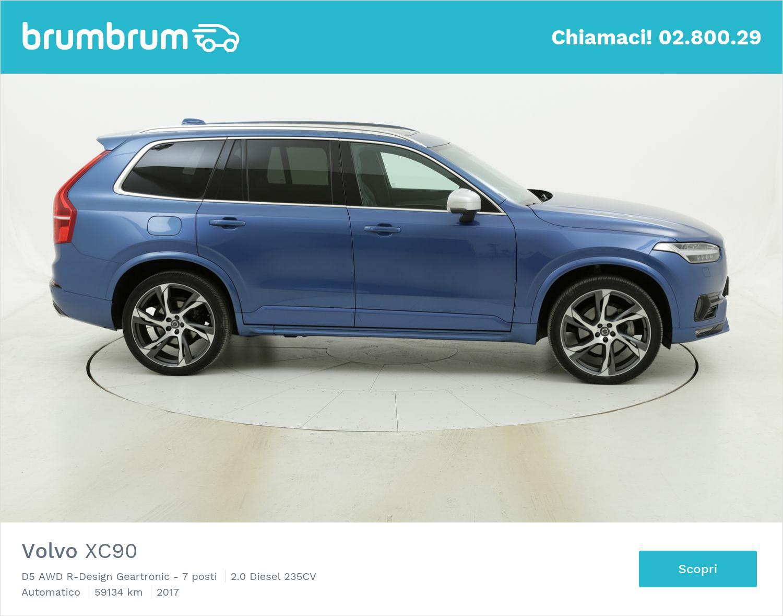 Volvo XC90 usata del 2017 con 59.205 km | brumbrum