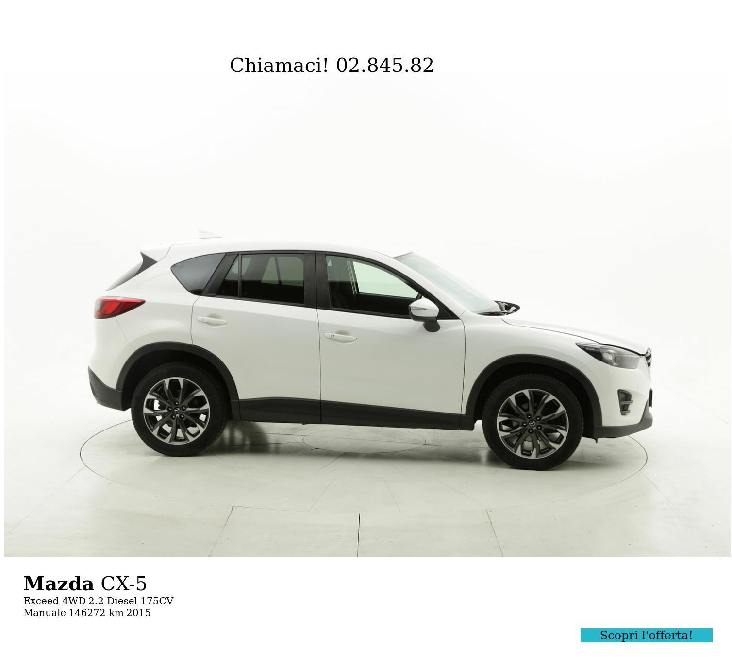 Mazda CX-5 usata del 2015 con 146.652 km | brumbrum
