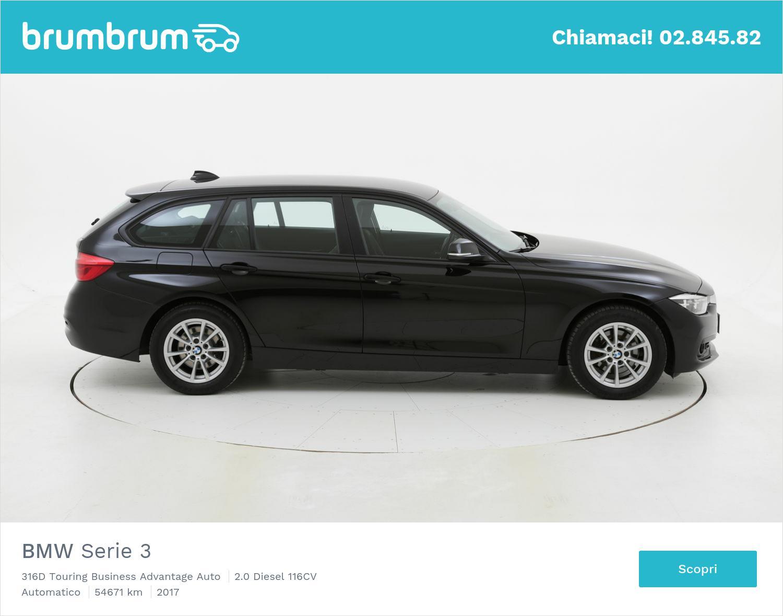 BMW Serie 3 usata del 2017 con 54.991 km   brumbrum