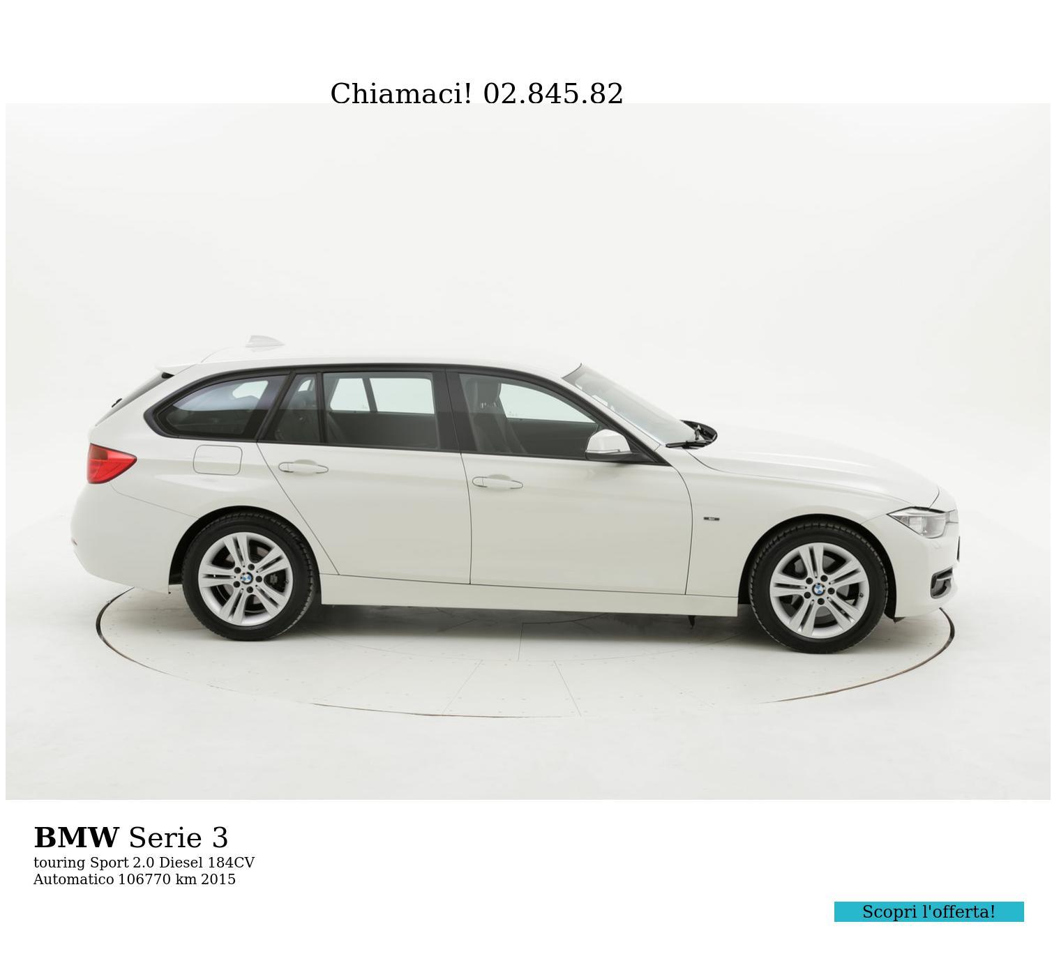 BMW Serie 3 usata del 2015 con 107.366 km | brumbrum
