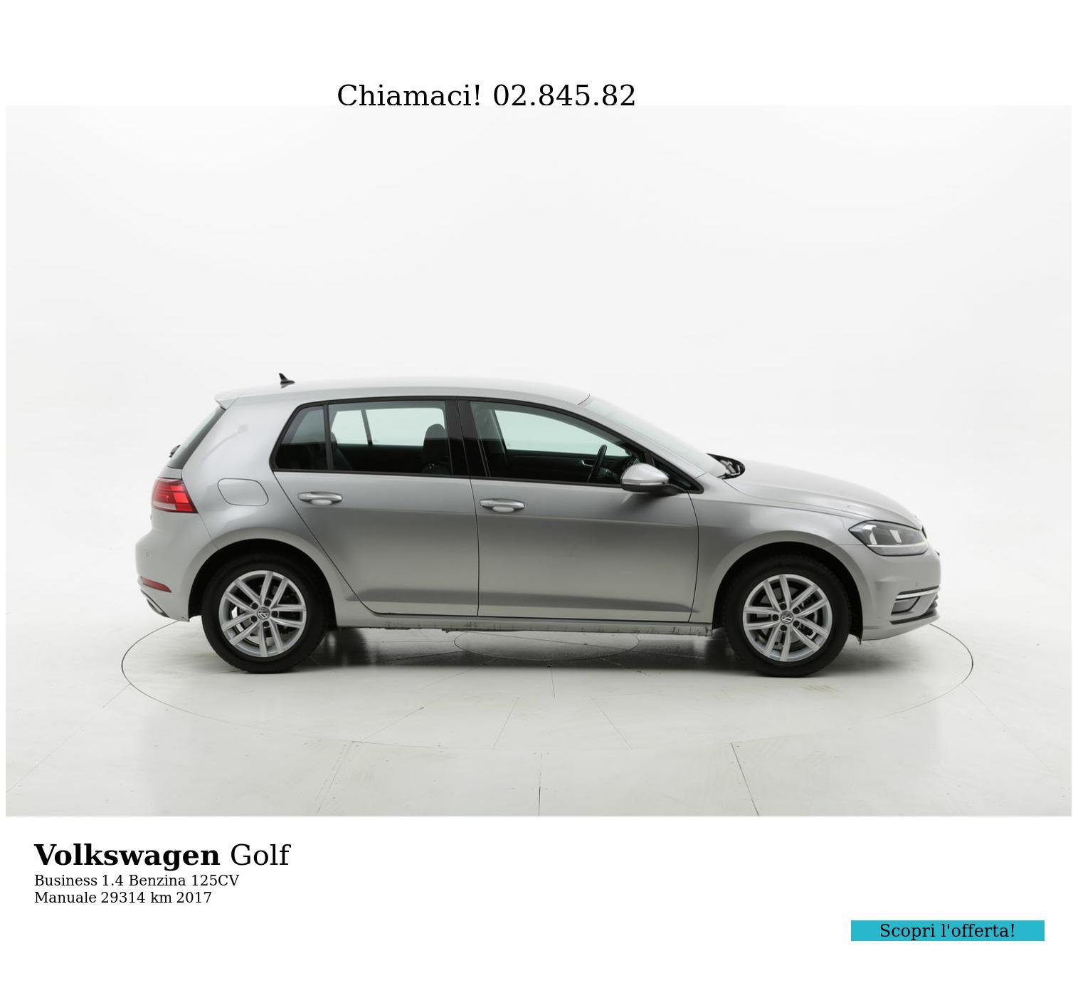 Volkswagen Golf usata del 2017 con 29.491 km | brumbrum
