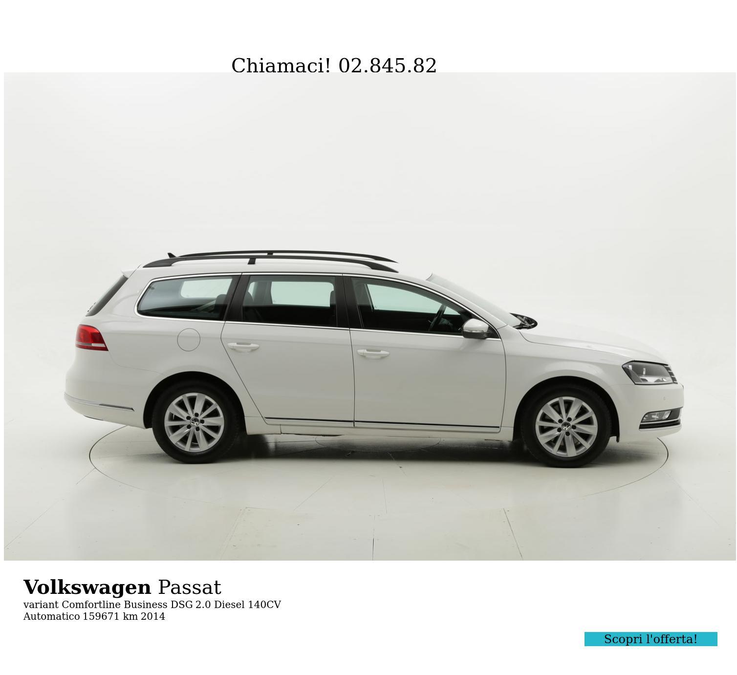Volkswagen Passat usata del 2014 con 160.145 km | brumbrum