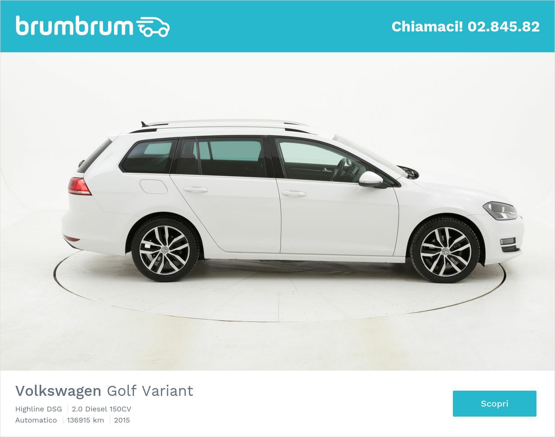 Volkswagen Golf Variant usata del 2015 con 137.435 km | brumbrum