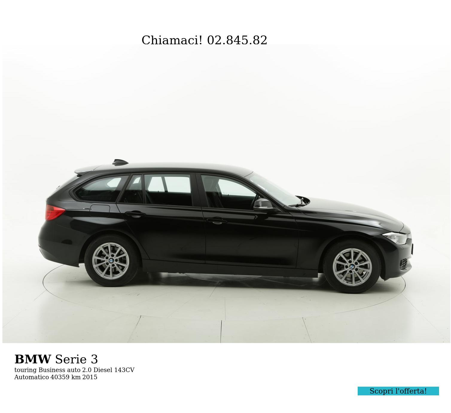 BMW Serie 3 usata del 2015 con 40.421 km | brumbrum