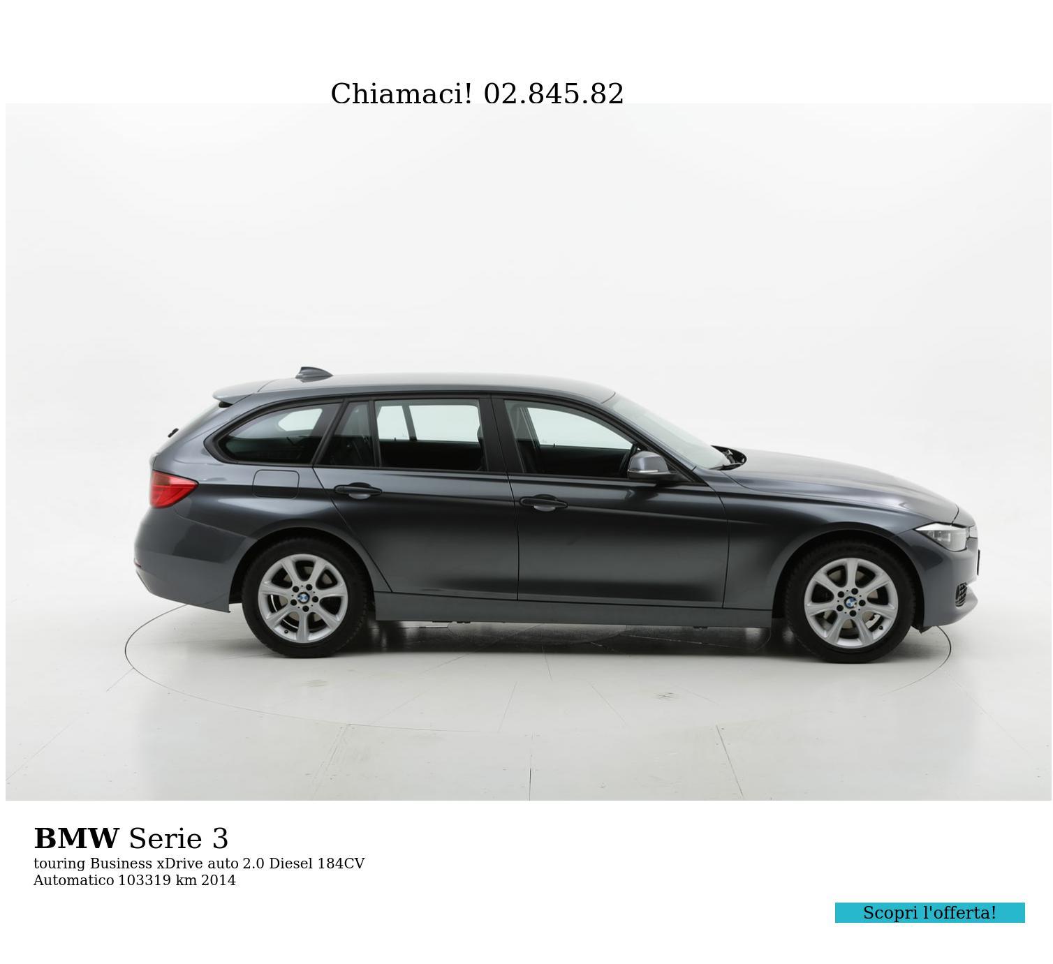 BMW Serie 3 usata del 2014 con 103.606 km | brumbrum