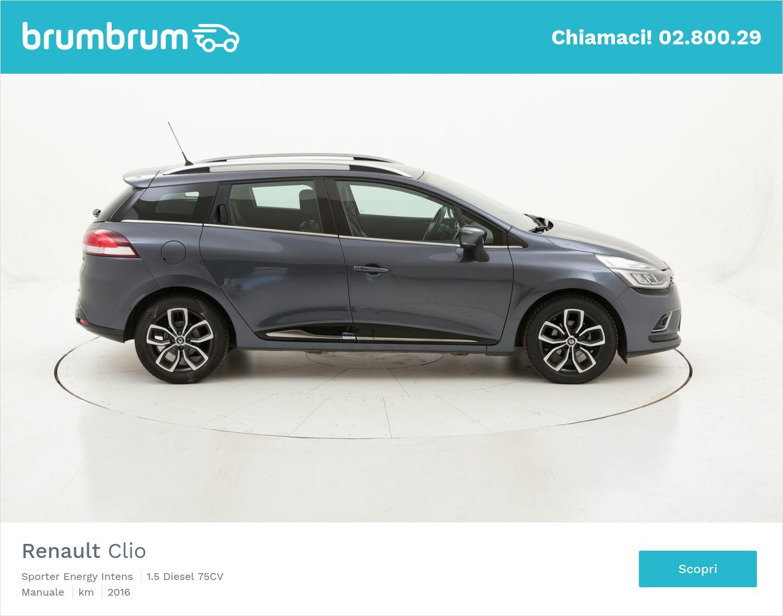 Renault Clio Sporter Energy Intens usata del 2016 con 62.897 km | brumbrum