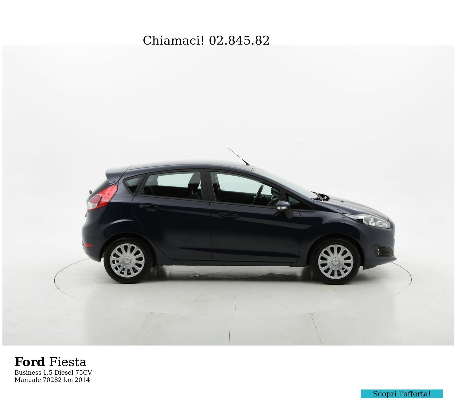 Ford Fiesta usata del 2014 con 70.383 km | brumbrum