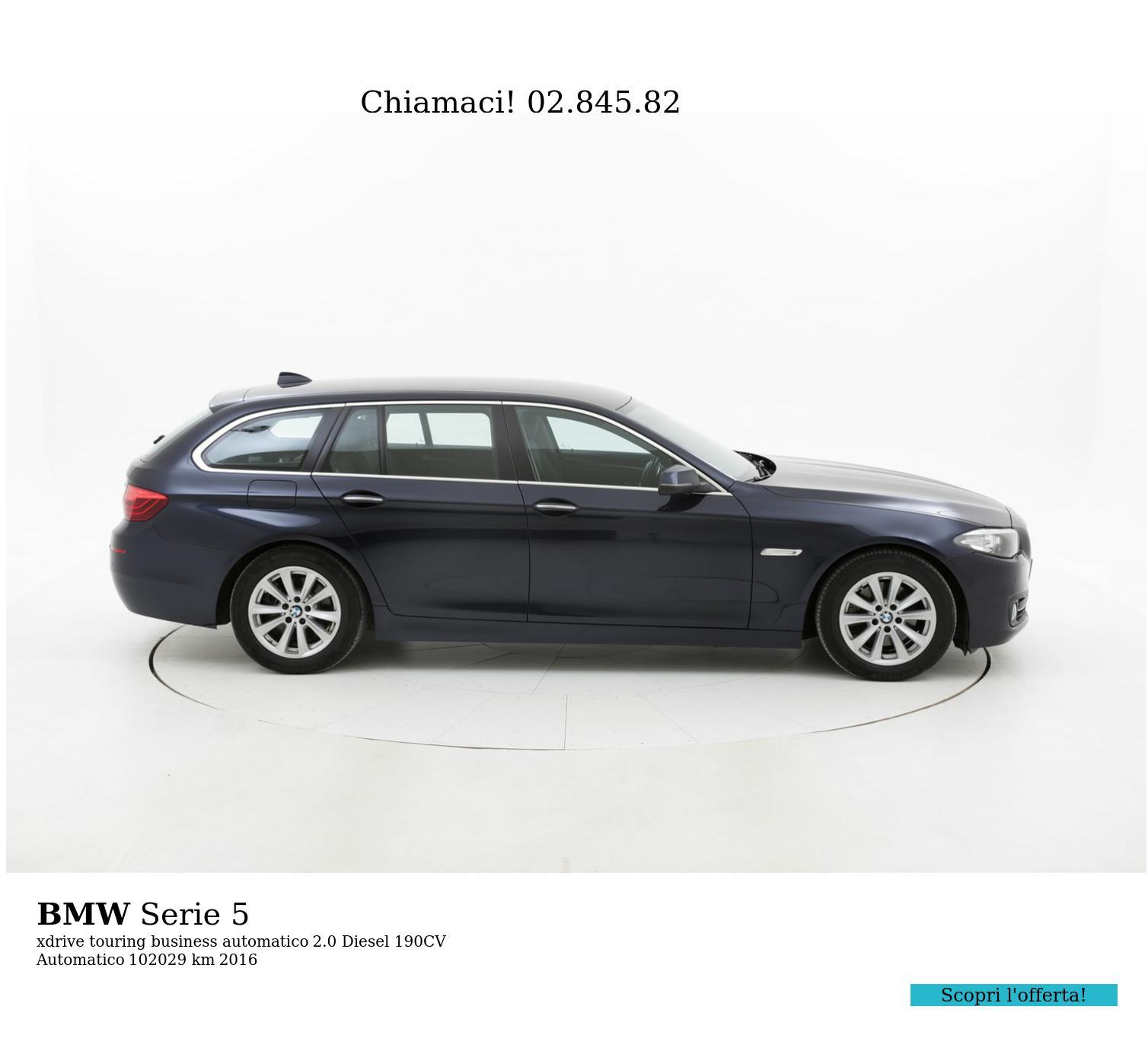 BMW Serie 5 usata del 2016 con 102.096 km | brumbrum