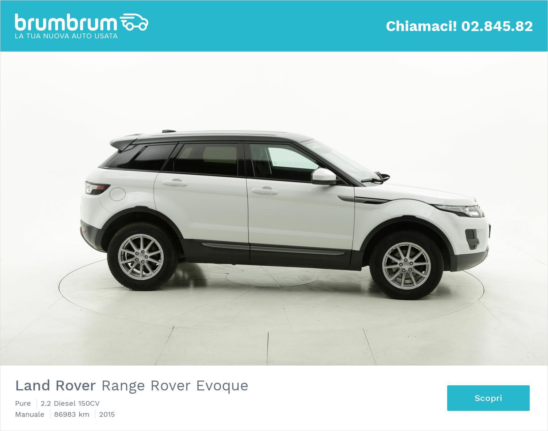 Land Rover Range Rover Evoque usata del 2015 con 87.095 km | brumbrum