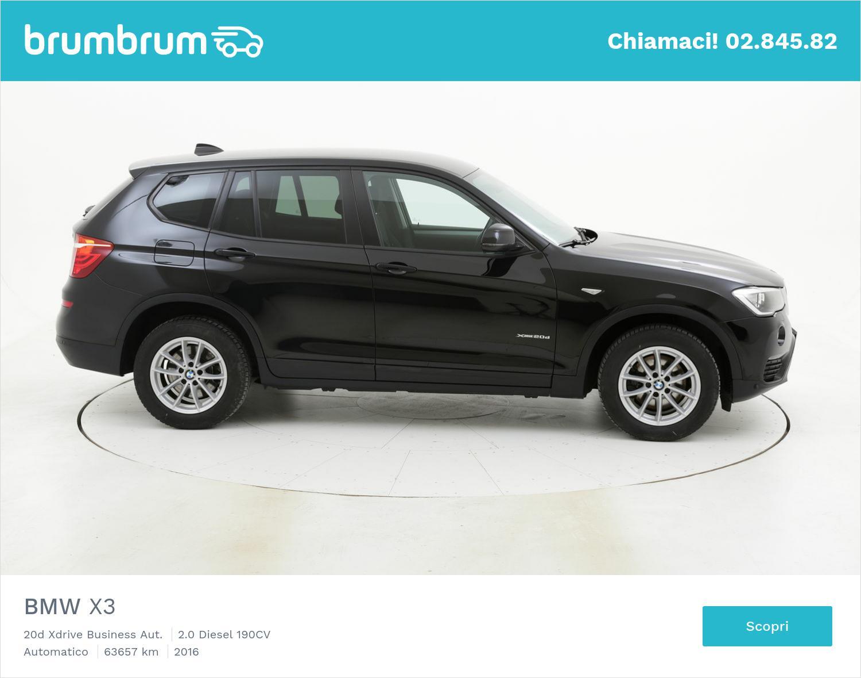 BMW X3 usata del 2016 con 64.221 km | brumbrum