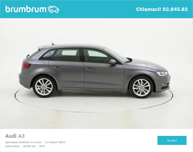 Audi A3 usata del 2015 con 62.873 km | brumbrum