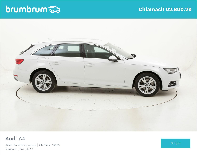 Audi A4 Avant Business quattro usata del 2017 con 97.963 km | brumbrum