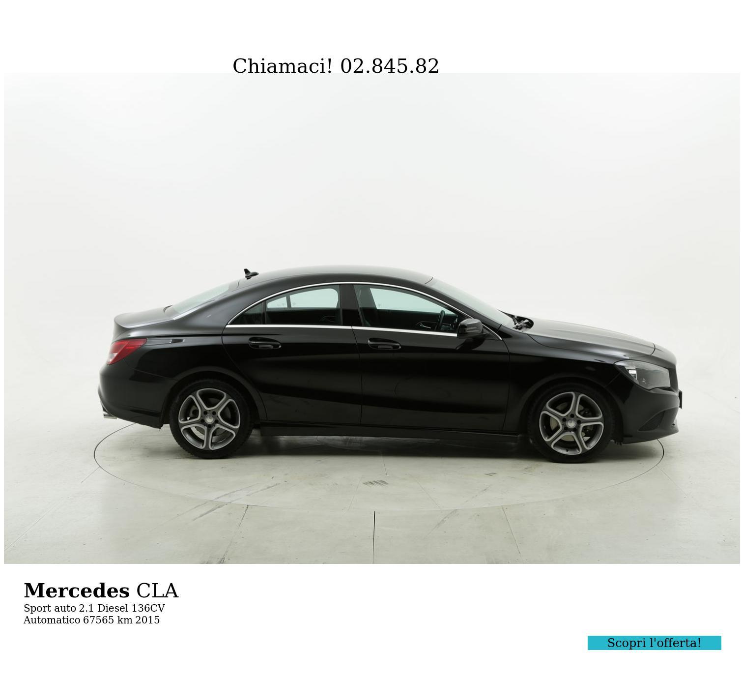 Mercedes CLA usata del 2015 con 67.606 km | brumbrum