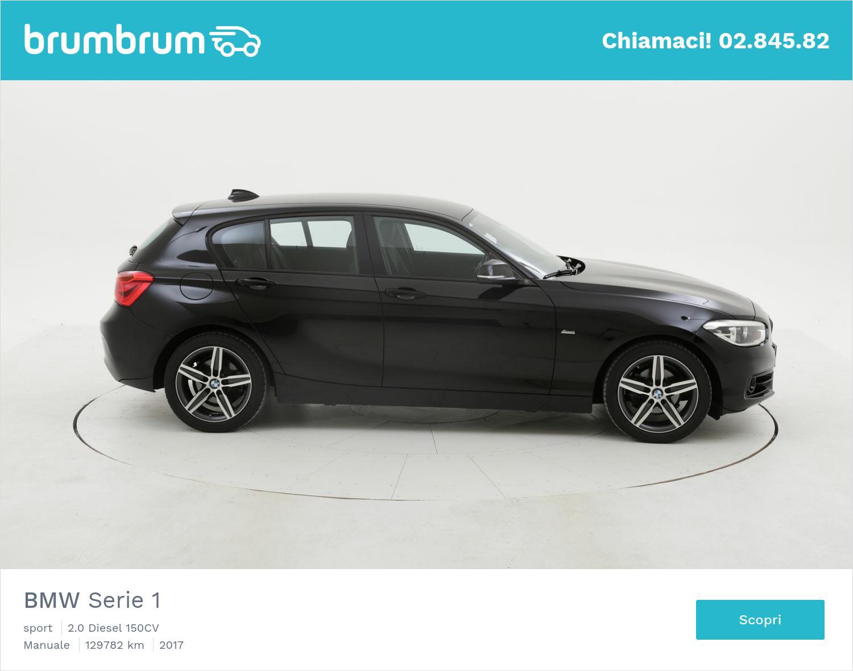 BMW Serie 1 usata del 2017 con 130.293 km | brumbrum