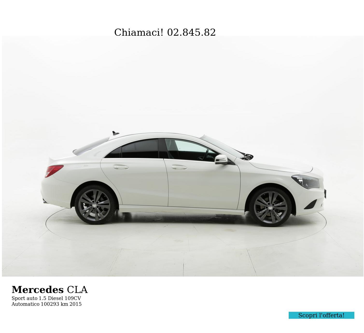 Mercedes CLA usata del 2015 con 100.425 km | brumbrum