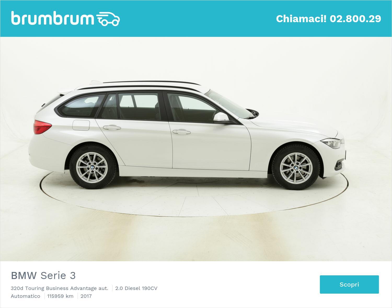 BMW Serie 3 320d Touring Business Advantage aut. usata del 2017 con 116.404 km | brumbrum