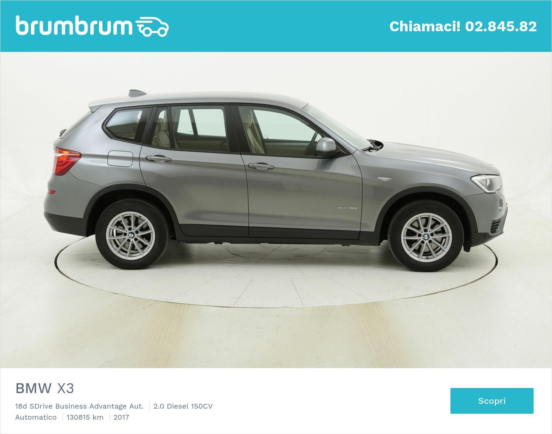 BMW X3 usata del 2017 con 131.425 km | brumbrum