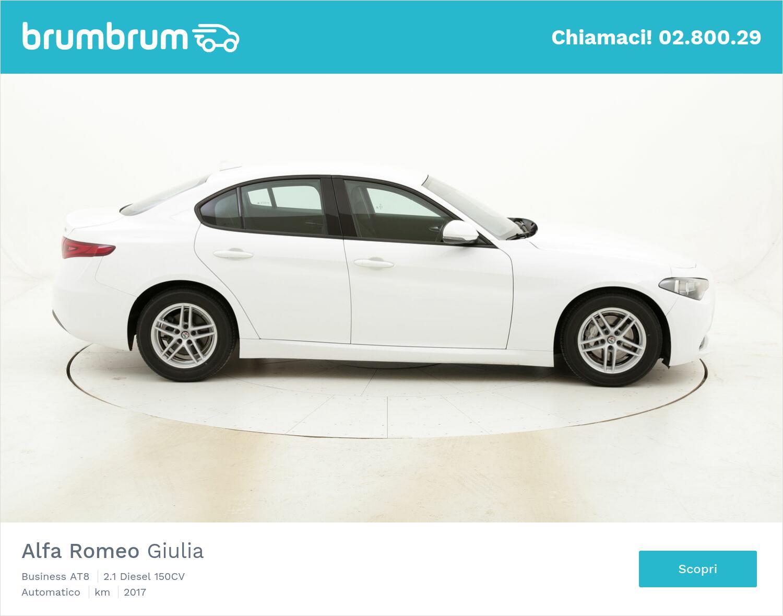 Alfa Romeo Giulia Business AT8 usata del 2017 con 105.806 km   brumbrum