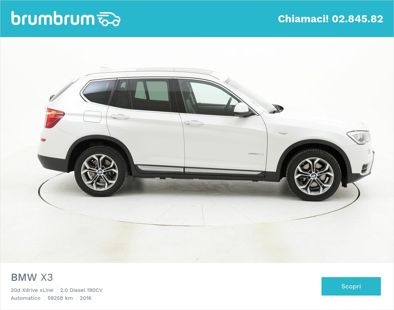 BMW X3 usata del 2016 con 59.780 km | brumbrum