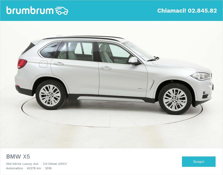 BMW X5 usata del 2016 con 43.034 km | brumbrum