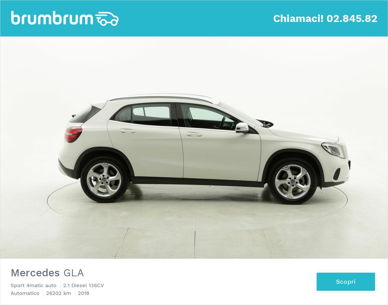 Mercedes GLA usata del 2018 con 26.255 km | brumbrum
