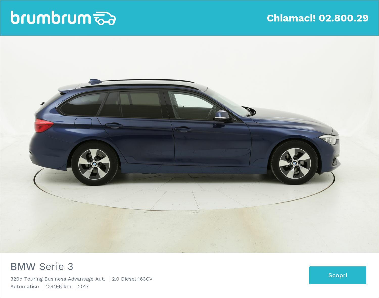 BMW Serie 3 320d Touring Business Advantage Aut. usata del 2017 con 124.739 km | brumbrum