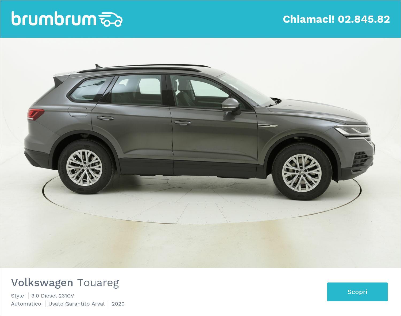 Volkswagen Touareg Style km 0 diesel grigia | brumbrum