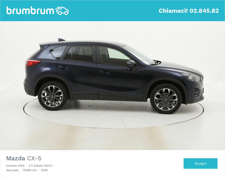 Mazda CX-5 usata del 2016 con 71.034 km   brumbrum