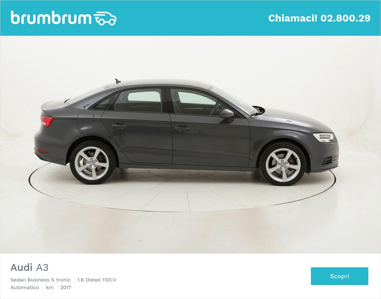 Audi A3 Sedan Business S tronic usata del 2017 con 83.513 km   brumbrum