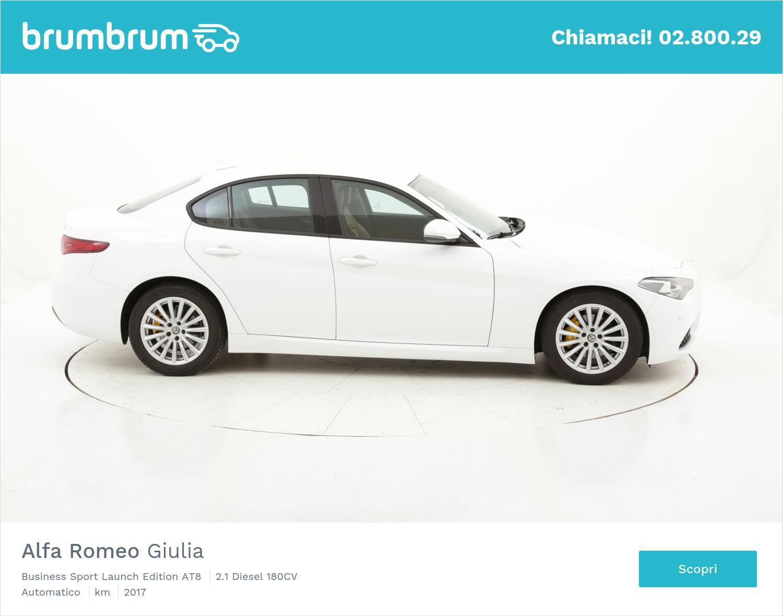 Alfa Romeo Giulia Business Sport Launch Edition AT8 usata del 2017 con 60.559 km | brumbrum
