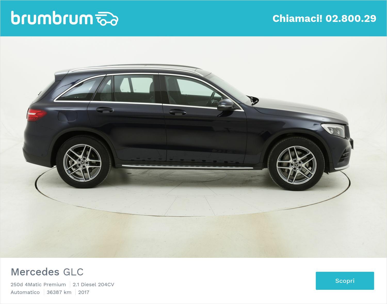 Mercedes GLC 250d 4Matic Premium usata del 2017 con 36.733 km | brumbrum