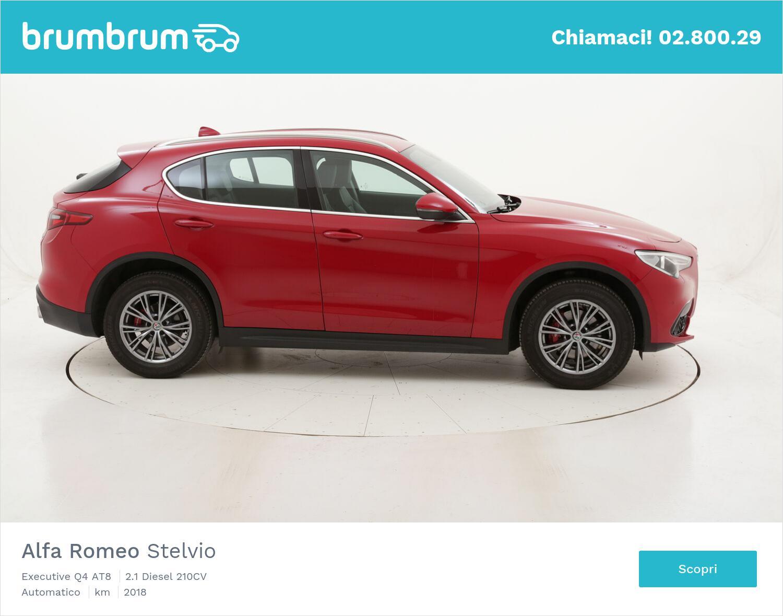 Alfa Romeo Stelvio Executive Q4 AT8 usata del 2018 con 68.175 km   brumbrum