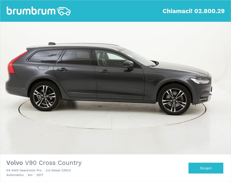 Volvo V90 Cross Country D4 AWD Geartronic Pro usata del 2017 con 99.256 km   brumbrum